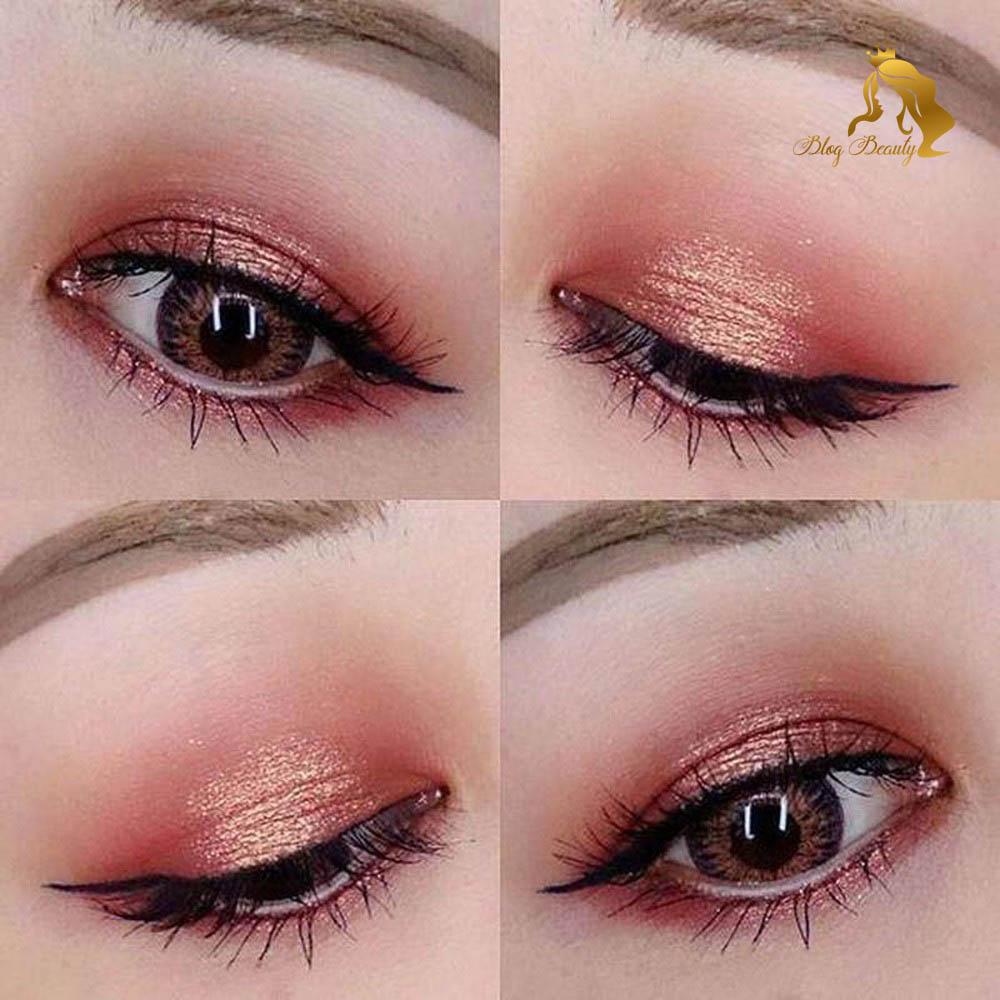 Cách trang điểm mi mắt giúp mắt to hơn