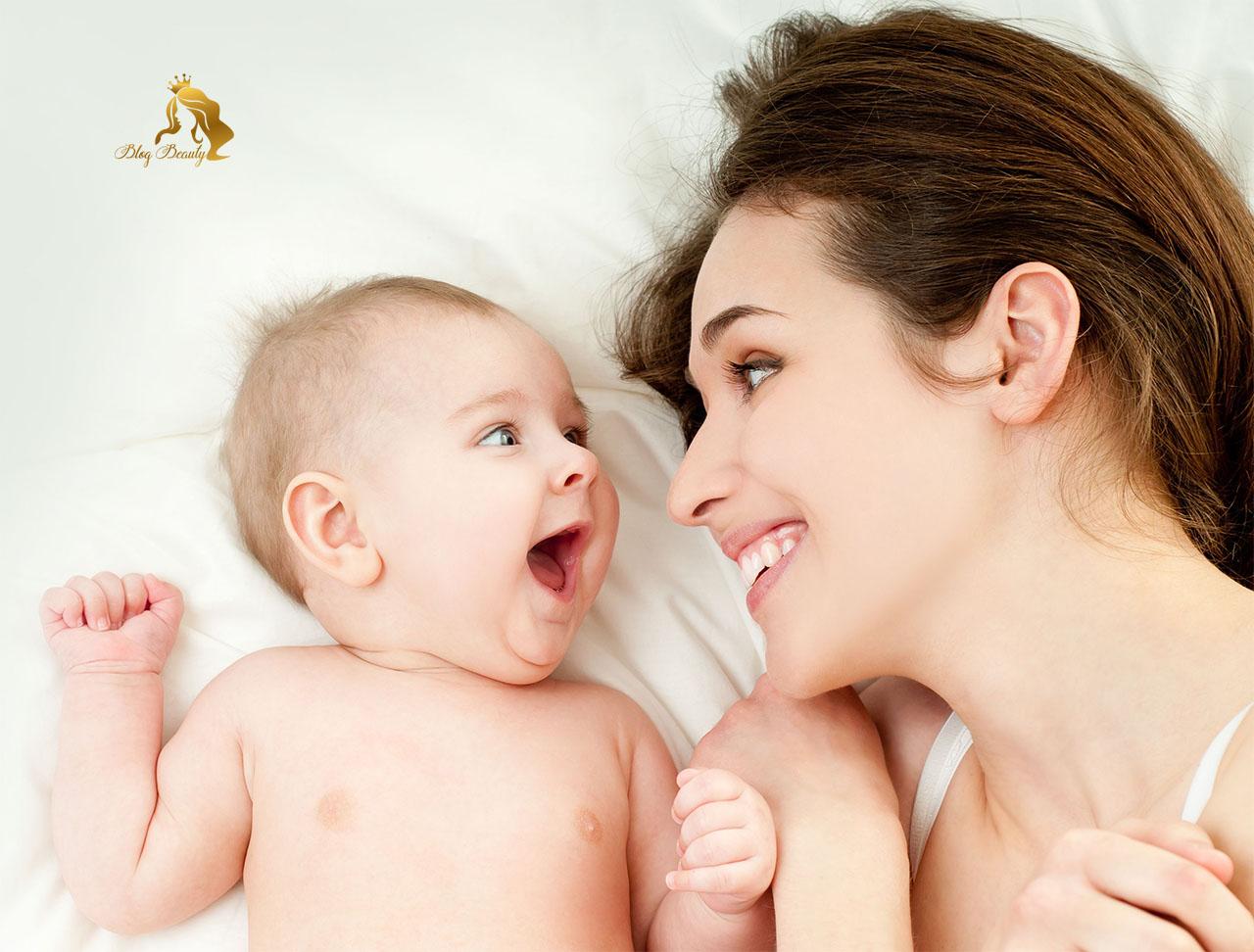 Chăm sóc da sau sinh cho các mẹ