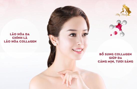 collagen với sự trẻ hóa làn da