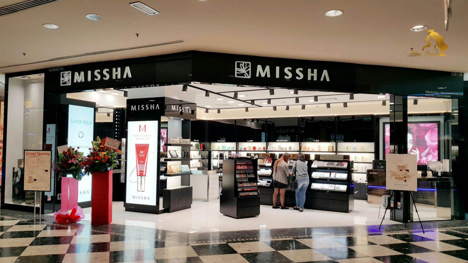 Thương hiệu mỹ phẩm Missha