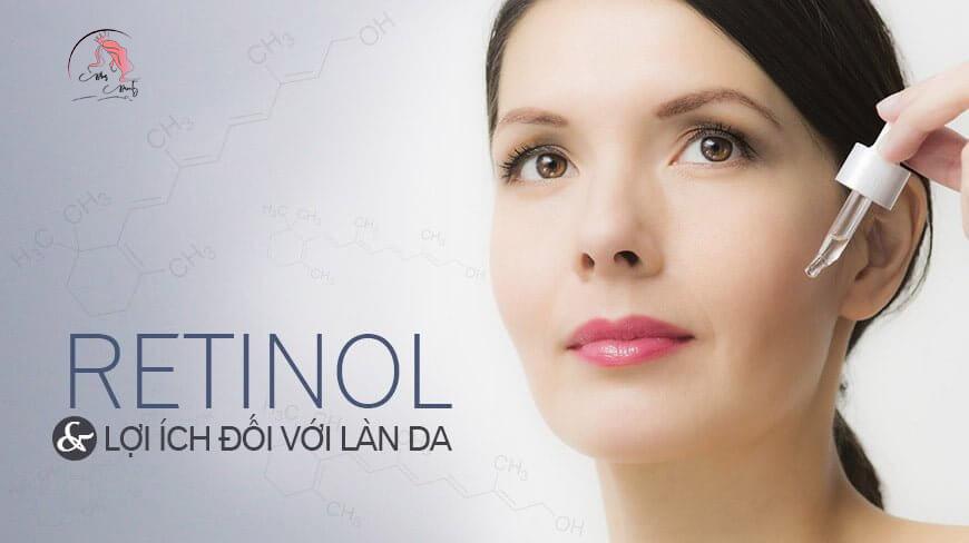 Công dụng của Retinol cho da
