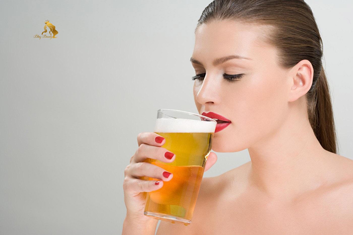 Uống bia giúp tóc mọc nhanh