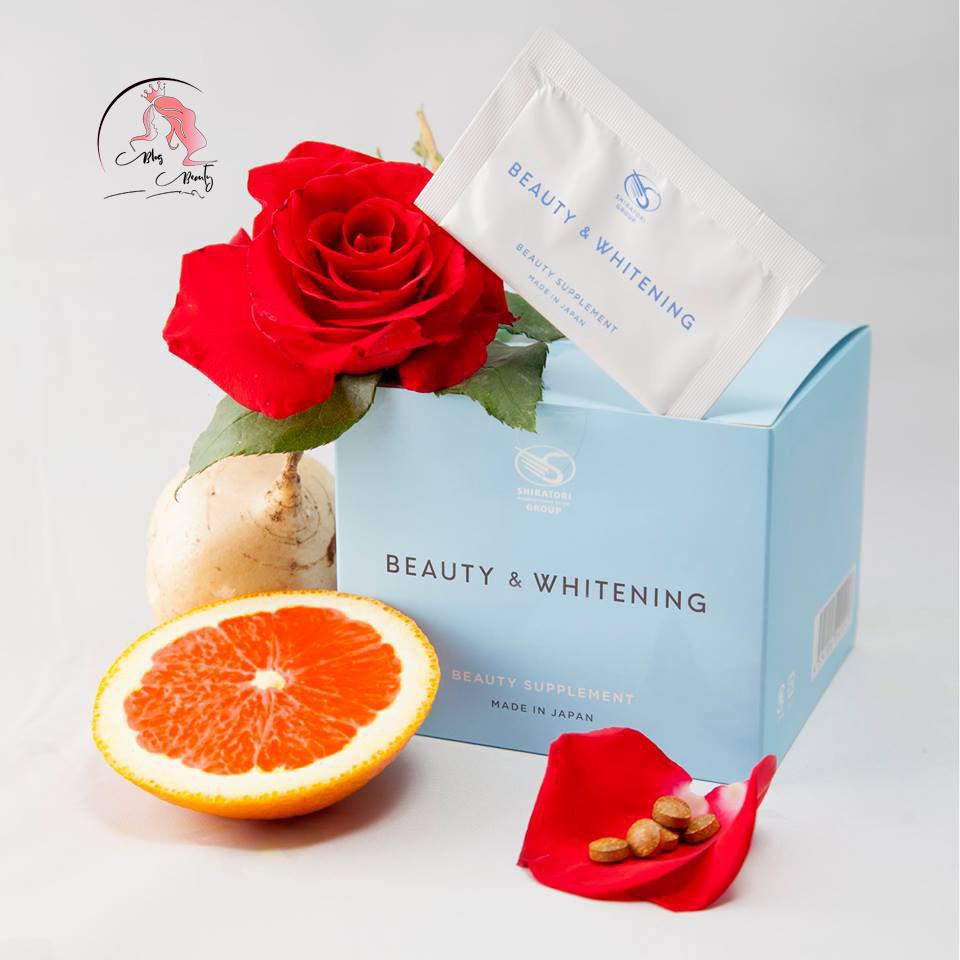 Viên Uống Trắng Da Chống Nắng Shiratori Beauty & Whitening