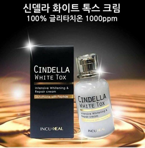 Thành phần của Cindel Tox White Cream