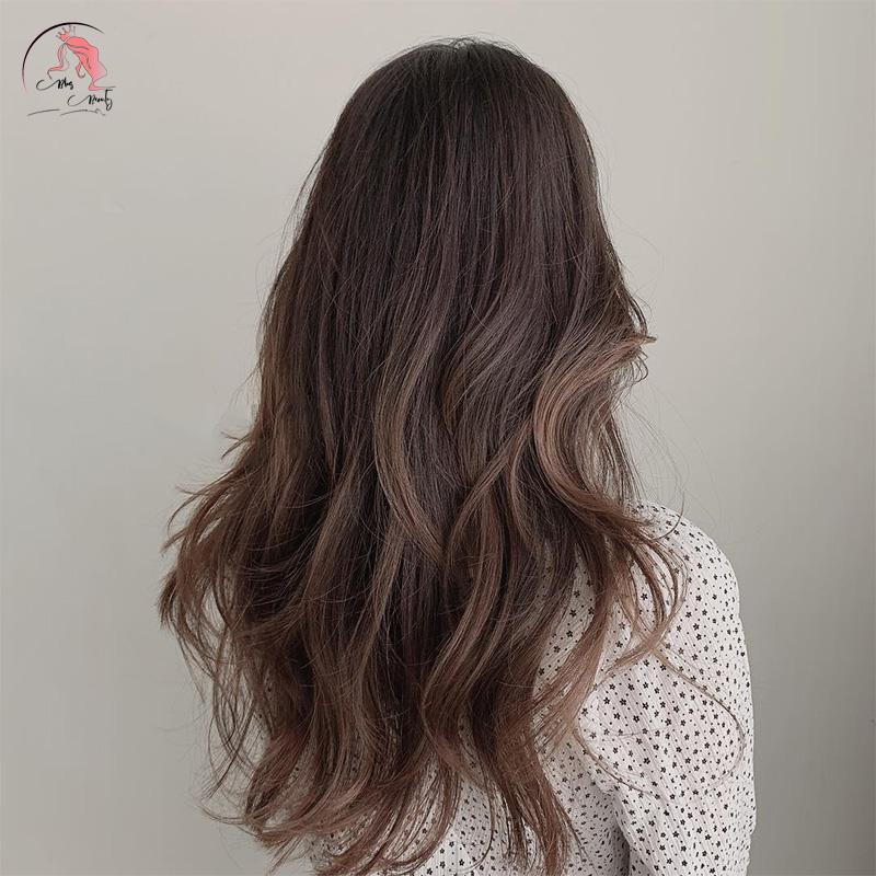 tóc tỉa layer ngang lưng
