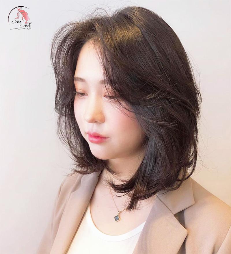 tóc layer không mái