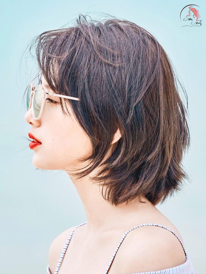 tóc tỉa layer suzy