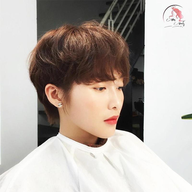 tóc tém uốn đẹp
