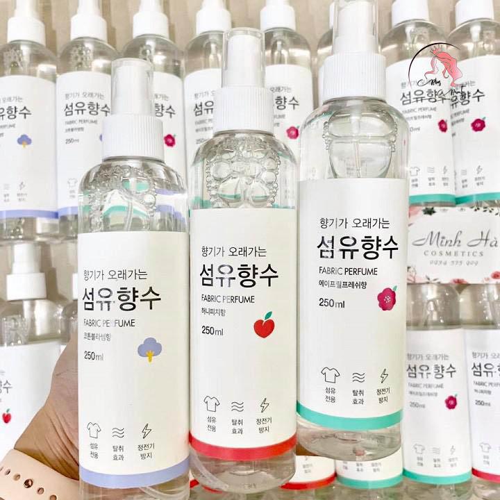 Sử dụng Fabric Perfume Hàn Quốc