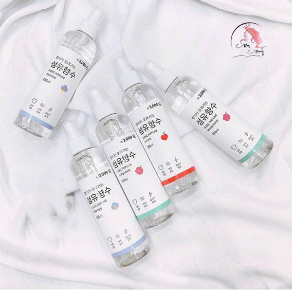 xịt thơm Fabric Perfume Hàn Quốc
