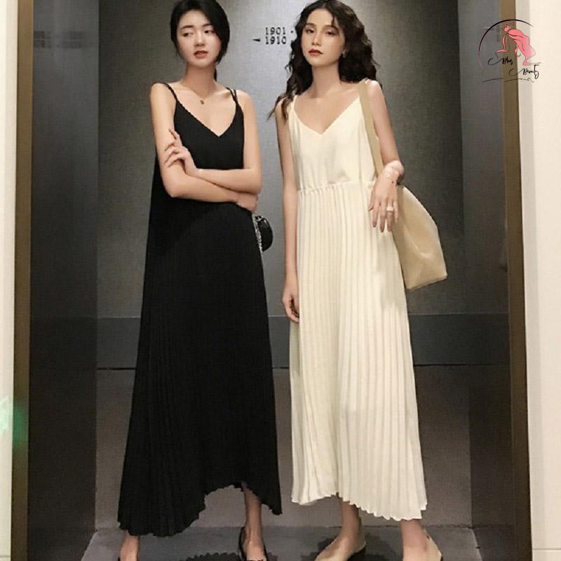 Váy đầm maxi dáng suông
