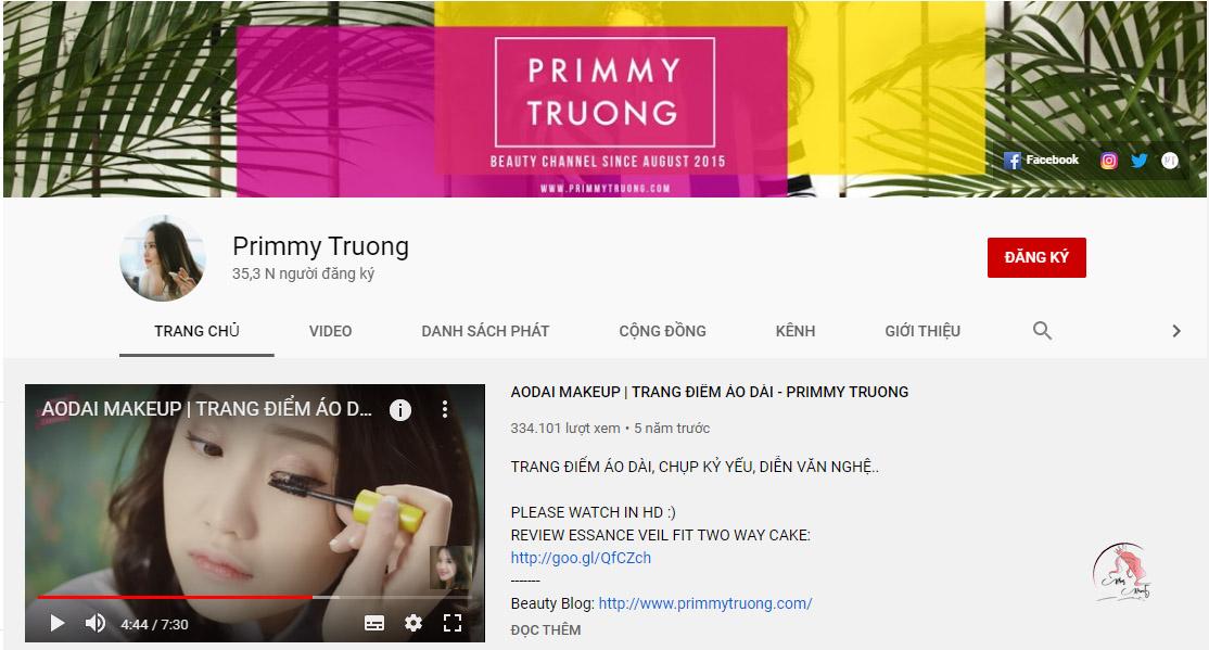 Kênh Primmy Truong