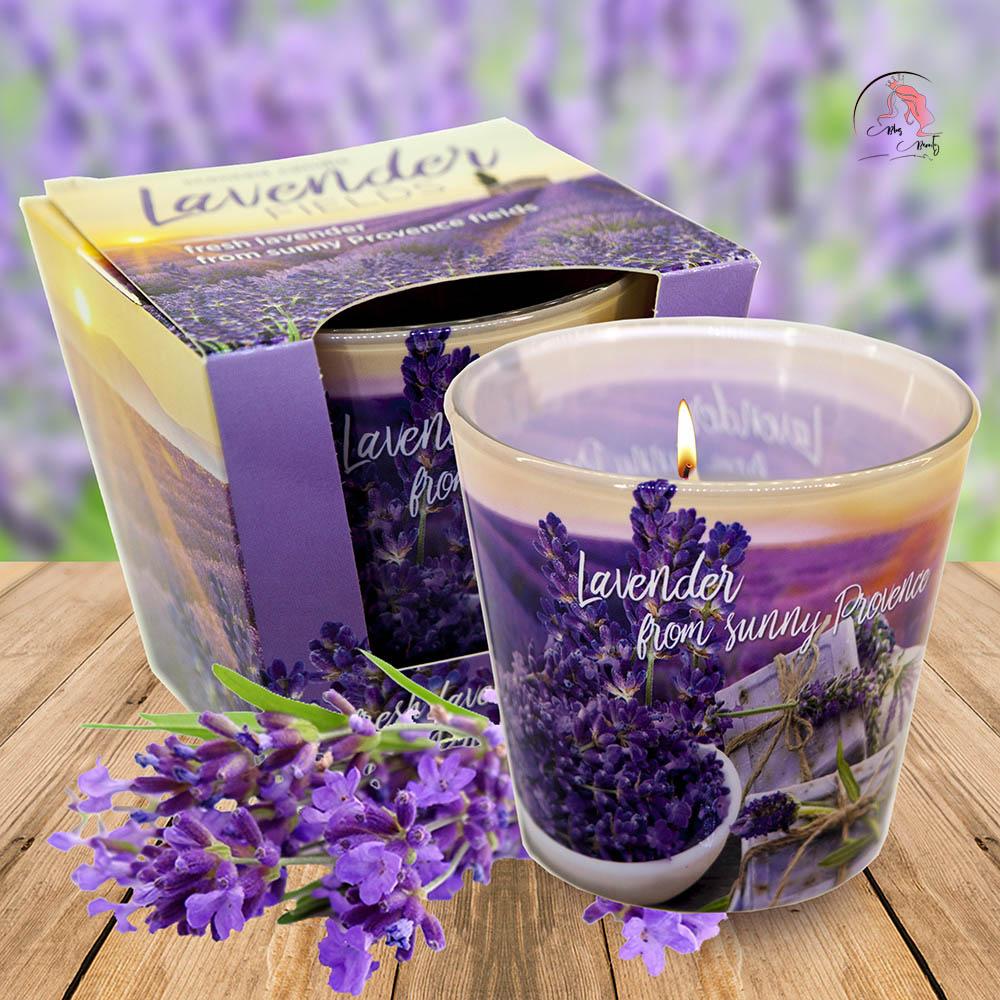 Nến thơm Bartek hương Lavender