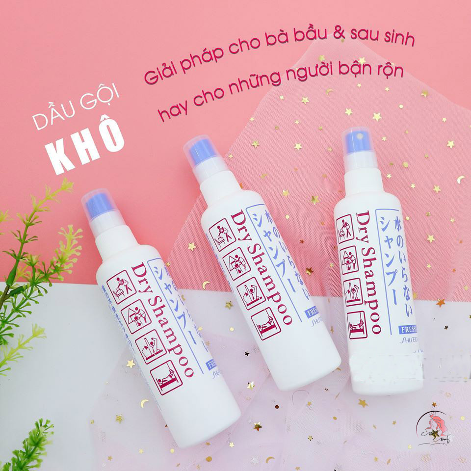 Dầu gội khô Shiseido