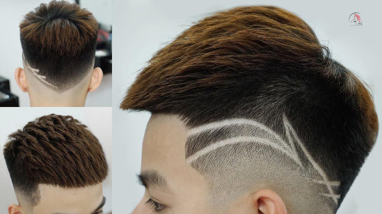 Kiểu tóc Mohican kẻ