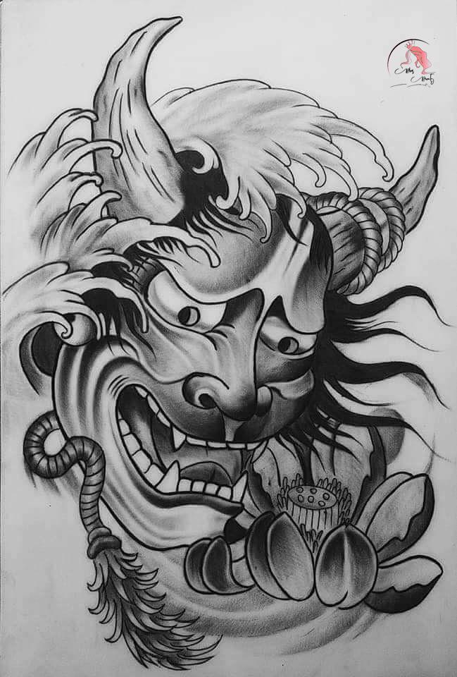 Ý nghĩa của hình xăm mặt quỷ