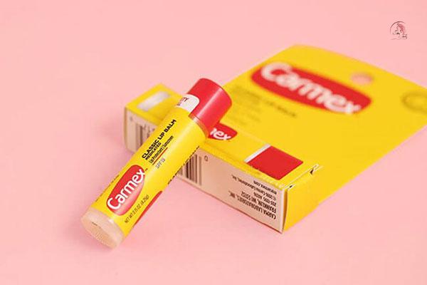 Son dưỡng dành cho môi xăm Carmex