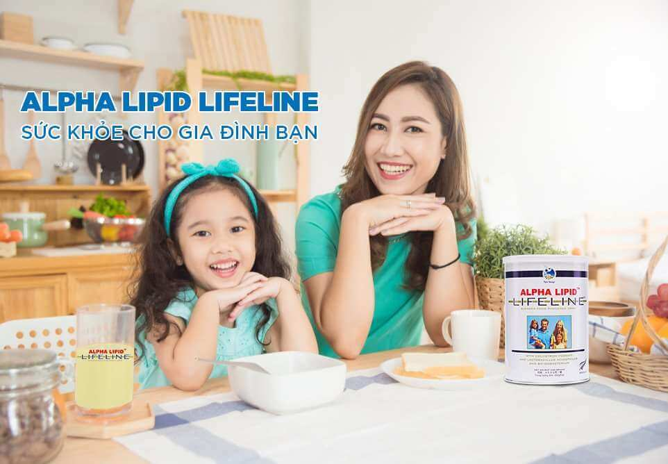 Alpha lipid lifeline - sức khỏe cho gia đình bạn