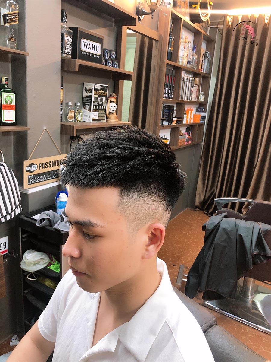 Cách vuốt tóc Mohican ngắn