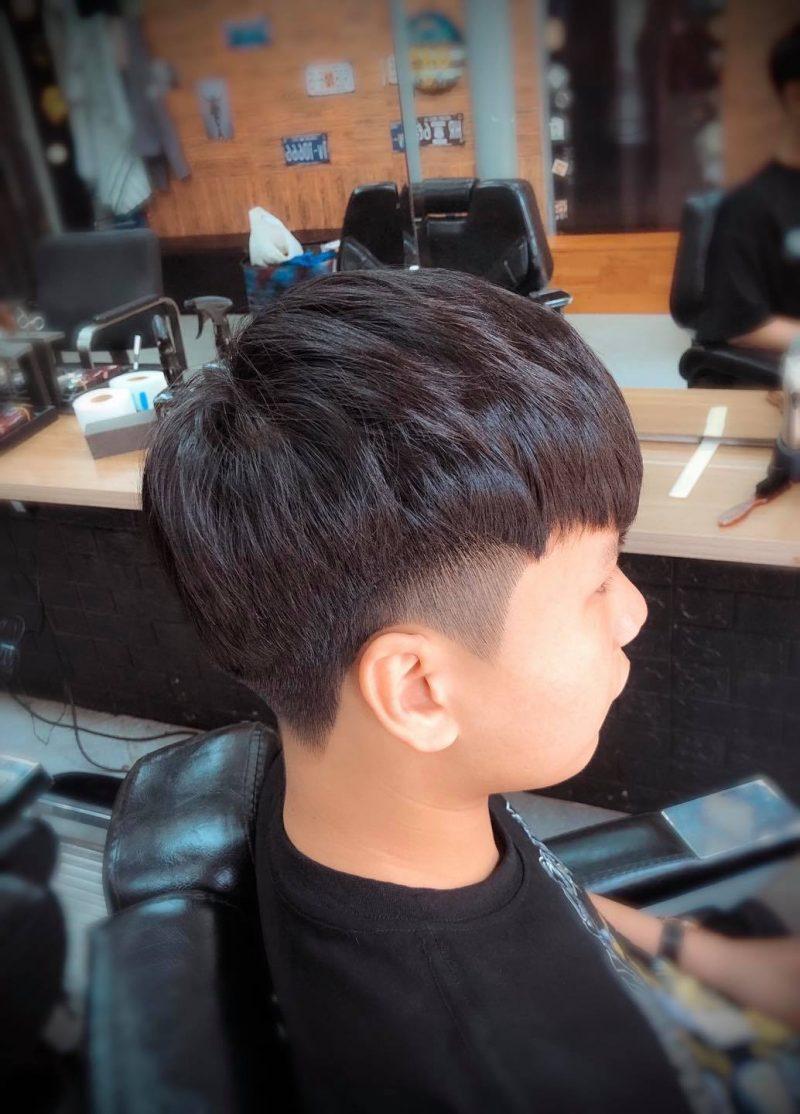 Cách tạo kiểu tóc Two Block