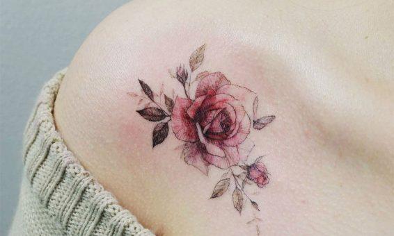 Ý nghĩa hình xăm hoa hồng