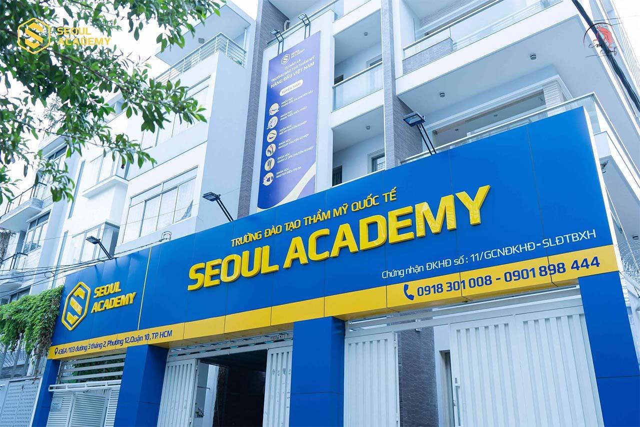 Trường Đào Tạo Thẩm Mỹ Seoul Academy