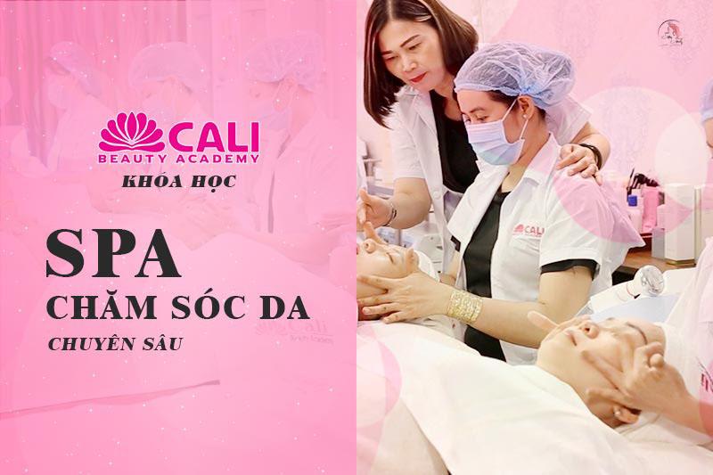 Dạy học Spa Cali Beauty Academy