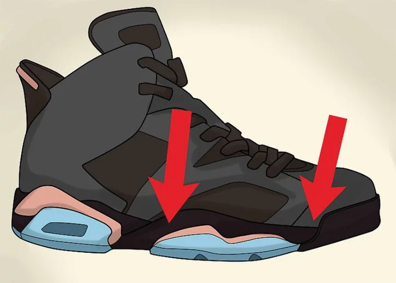 Kiểm tra đế giày Nike