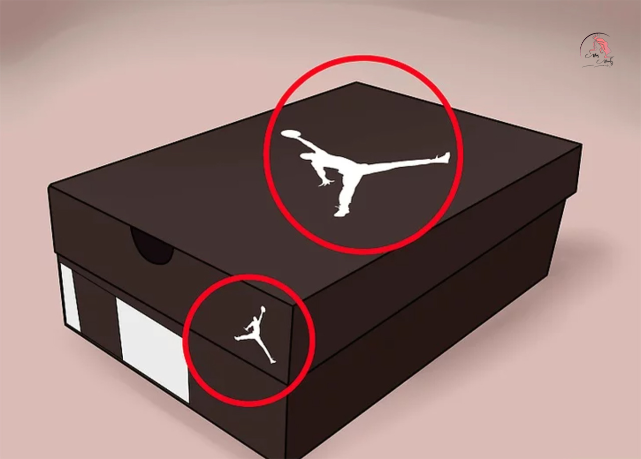 Phân biệt giày Nike Air Jordan thật giả qua hộp