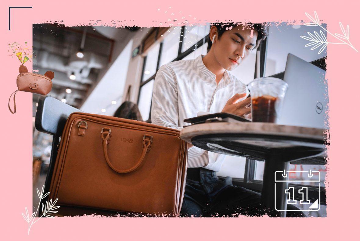 Túi xách nam nổi bật thương hiệu Lee&Tee