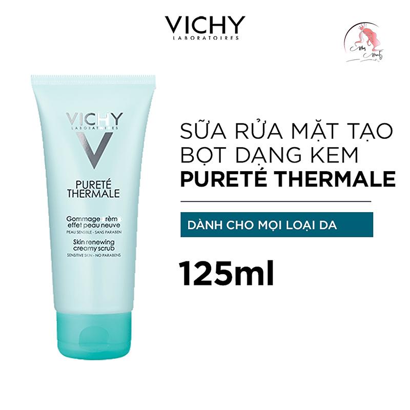 Sữa rửa mặt Vichy Purete Skin Renewing Creamy Scrub