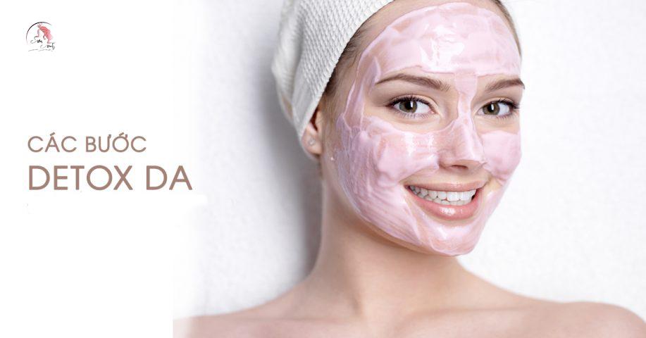 Cách detox da mặt
