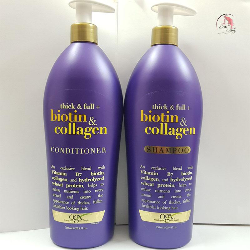 Dầu Gội Biotin Collagen tím