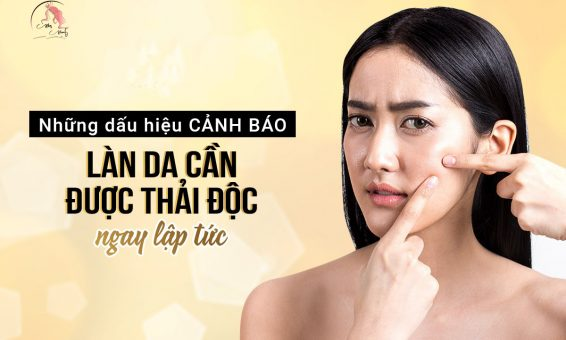 Dấu hiệu da cần được detox